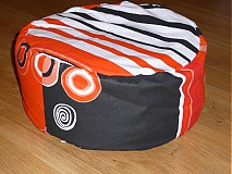 Úžitkový textil - Meditačný vankúš špaldový - 3739006_