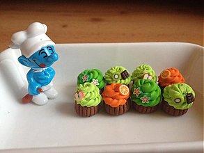 Náušnice - Muffinky na želanie - 3764892_