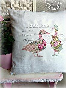 Úžitkový textil - Welcome Spring vankúš - 3774906_