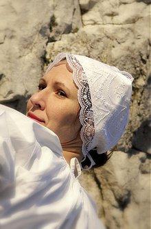 Iné doplnky - Svadobný čepiec - čisto biely - 3791924_
