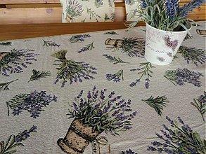 Úžitkový textil - Levanduľová štóla - 3872630_