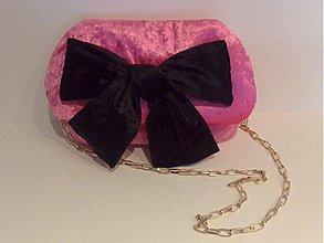 Kabelky - Pink & Black Jelly - 3895410_
