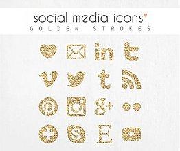 Grafika - ikonky sociálnych sietí - 3899385_