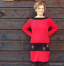 Tehotenské oblečenie - Simply red - 3910410_