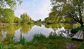 Fotografie -  jarná panorama od Malého Dunaja - 3926891_