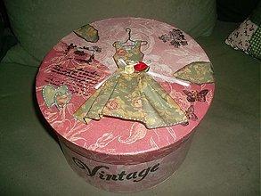 Krabičky - vintage krabica - 3969404_