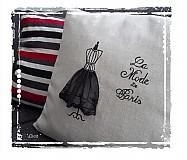 Úžitkový textil - La Mode De Paris obliečka na vankúš - 4000620_