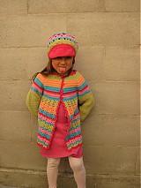 Detské oblečenie - Dúhový svetrík - 4002918_