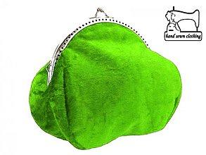 Kabelky - Zamatová dámská kabelka , taštička 0715 - 4005799_