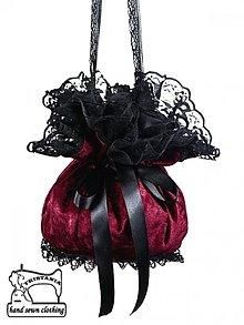 Kabelky - Kabelka dámská  burleskná  pompadúrky  0020 - 4007067_