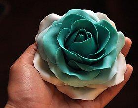 Drobnosti - Ruža XL z marcipánu tónovaná - 4013051_