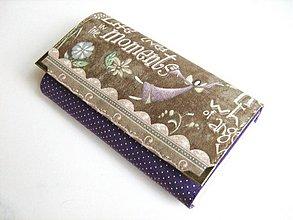 Peňaženky - Víla Andělínka - střední velikost 16,5 X10,5 - 4018522_