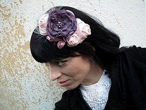 Ozdoby do vlasov - Rosé - 4061258_