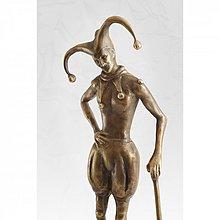 Socha - Šašo - bronzová socha - originál - 4064415_