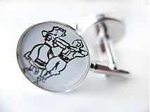 Šperky - Manžetové gombíky Radoslav - 4067293_