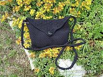 Kabelky - kabelka čierna :) - 4085133_