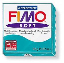 Modelovacie hmoty - Fimo soft tyrkysová (39) - 4102834_