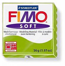 Modelovacie hmoty - Fimo soft svetlo zelená (50) - 4102924_