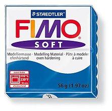 Modelovacie hmoty - Fimo soft modrá (37) - 4103006_