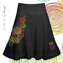 Sukne - Dámska sukňa A strih voliteľná dĺžka rôzne farby FARBENÝ SVET - 4103053_