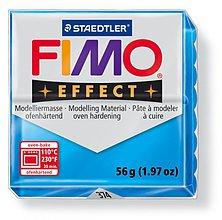 Modelovacie hmoty - Fimo effect transparentná modrá (374) - 4105379_
