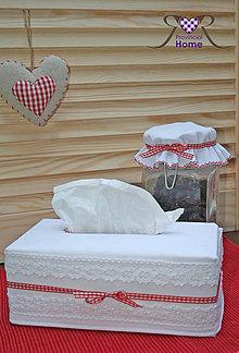 Úžitkový textil - OBAL NA VRECKOVKY - 4147427_