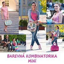 Iné tašky - Barevná kombinatorika na přání MiNi - 4202116_