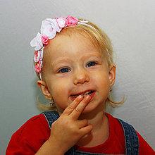 Detské doplnky - Čelenka Jahôdka. - 4206636_