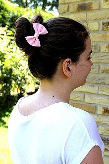 Ozdoby do vlasov - Oživ sa - Nežná ružička - 4210083_