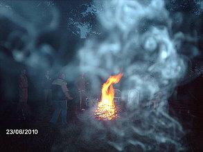 Fotografie - Tancujúci dymový mrak.. - 4223798_
