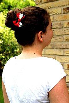 Ozdoby do vlasov - Oživ sa - Pre kvetinový deň - 4228693_