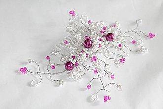 Ozdoby do vlasov - Svadobná ozdoba do účesu - Diana - 4274708_