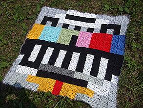 Úžitkový textil - RETRO deka \