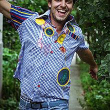 Oblečenie - Origo panksa košela - 4281741_