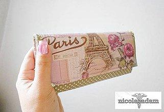 Peňaženky - Harmonika velká - 8 karet - 4292314_