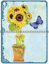 Textil - Bavlněná látka- velký panel A1454 - 4329905_