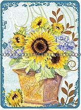 Textil - Bavlněná látka- velký panel A1452 - 4329906_