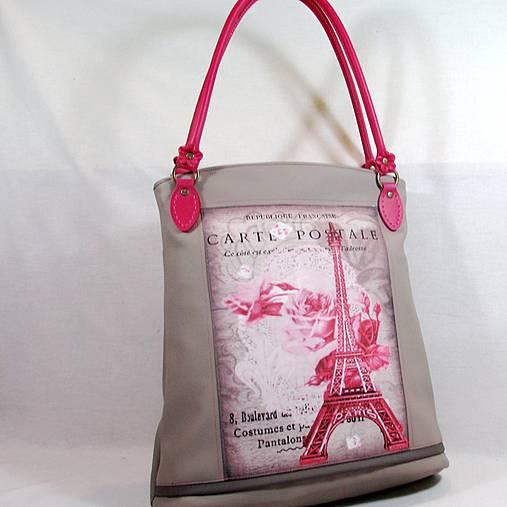 Kabelka RŮŽOVÁ PAŘÍŽ