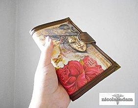 Peňaženky - Masquerade - karty i cestovní pas - 4338863_
