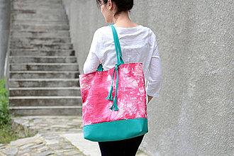 Veľké tašky - Maxi fuchsiová - 4355501_