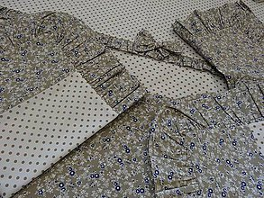 Úžitkový textil - romantické postelné prádlo na chalupu:) - 4412551_