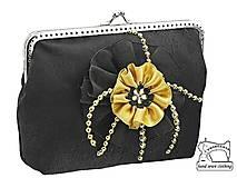 Kabelky - Spoločenská kabelka do ruky , taštička 0845A - 4426919_