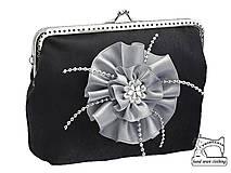 Kabelky - Spoločenská dámská kabelka , taštička 0840A - 4427458_