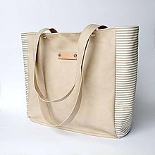 Veľké tašky - Elisabeth (beige) - 4457289_