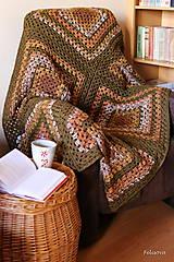 Úžitkový textil - v jesenných tónoch...SKLADOM - 4466485_