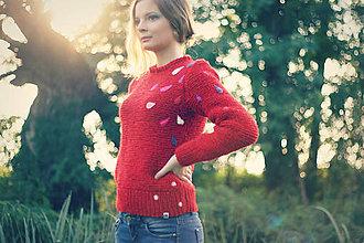 Svetre/Pulóvre - Red Sweater - 4476094_