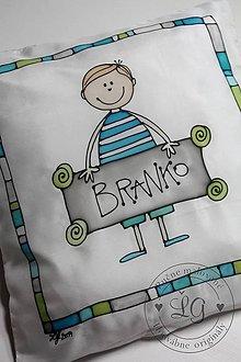 Úžitkový textil - obliečka CHLAPČEK - 4482822_