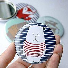 Zrkadielka - Zrkadielko do kabelky (mackovia, zajkovia a líšky) - 4491780_