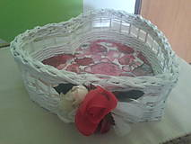 Košíky - srdiečko - 4494047_