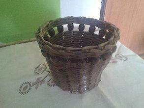 Košíky - kvetinač - 4494009_
